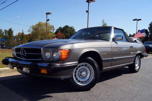 1984 mercedes benz sl class 380sl for sale in lilburn for 1984 mercedes benz 380sl for sale