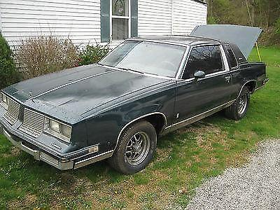 1984 Oldsmobile Cutlass Supreme Base Coupe 2-Door 5 0L