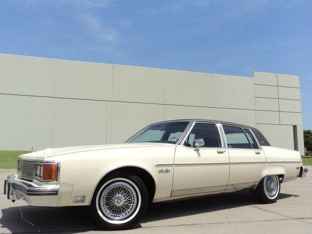 1984 Oldsmobile Ninety-Eight Regency Brougham