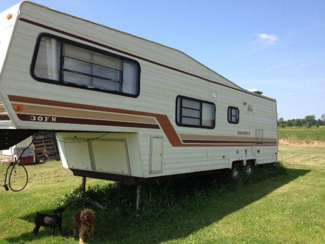 1984 Shasta 30 5th Wheel Camper For Sale In Athens