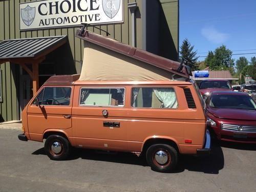 1984 volkswagen vanagon campmobile westfalia for sale in. Black Bedroom Furniture Sets. Home Design Ideas