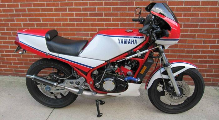 1984 yamaha rz 350 for sale in brownstown michigan for Yamaha rz for sale
