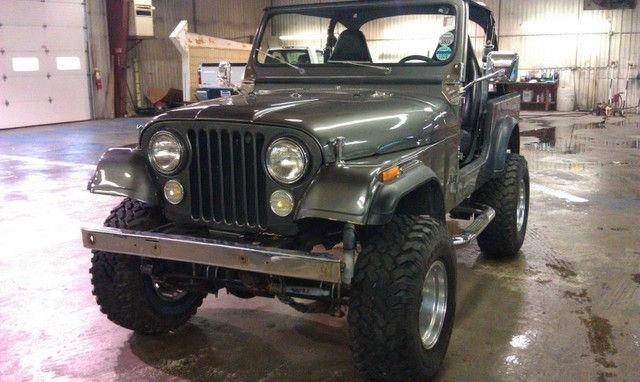 1984 jeep cj 7 for sale in rushville indiana classified. Black Bedroom Furniture Sets. Home Design Ideas