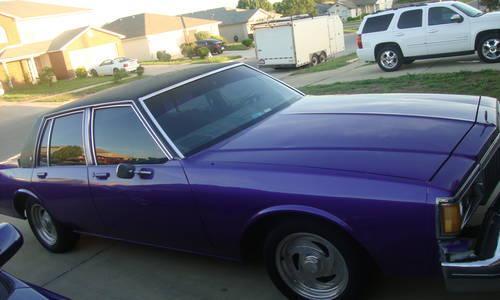 American Auto Sales Killeen Tx: 1984 Pontiac Parisienne Brougham For Sale In Killeen