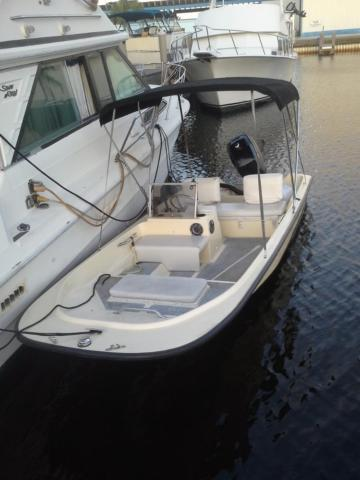 1985 16 2 39 wahoo with 90hp mercury outboard for sale in for Mercury outboard motors for sale in florida