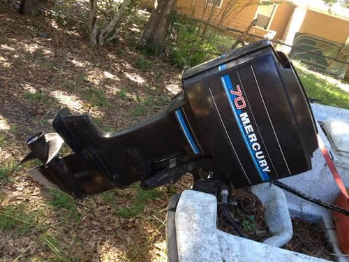 1985 70hp mercury outboard for sale in choctaw beach for Mercury outboard motors for sale in florida