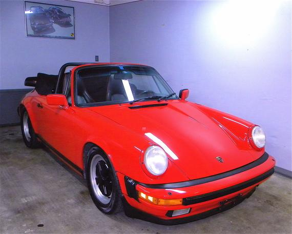 1985 911 Carrera Cabriolet, Euro model.
