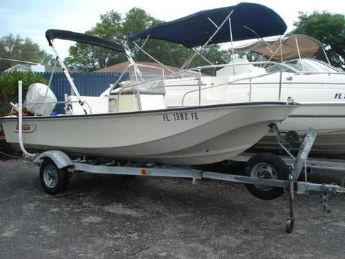 1985 Boston Whaler 17' Montauk w/ 2002 60 HP 4-Stroke Mercury