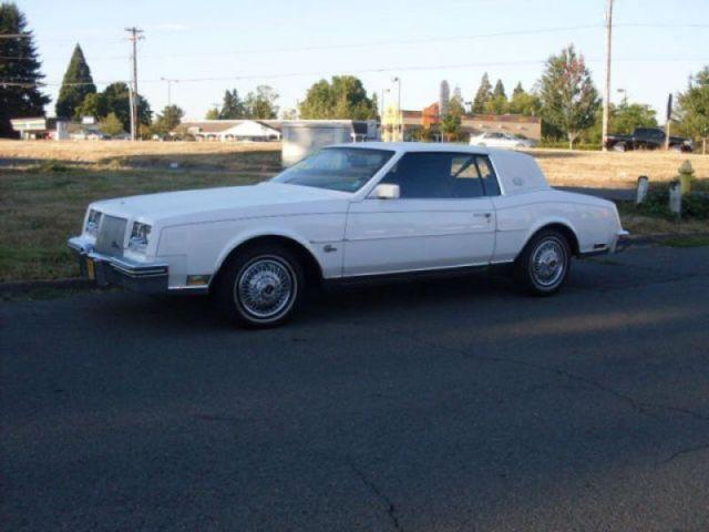 1985 buick riviera r for sale in salem oregon classified. Black Bedroom Furniture Sets. Home Design Ideas