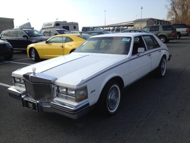1985 cadillac seville white what a car for sale in brooklyn new york classified. Black Bedroom Furniture Sets. Home Design Ideas