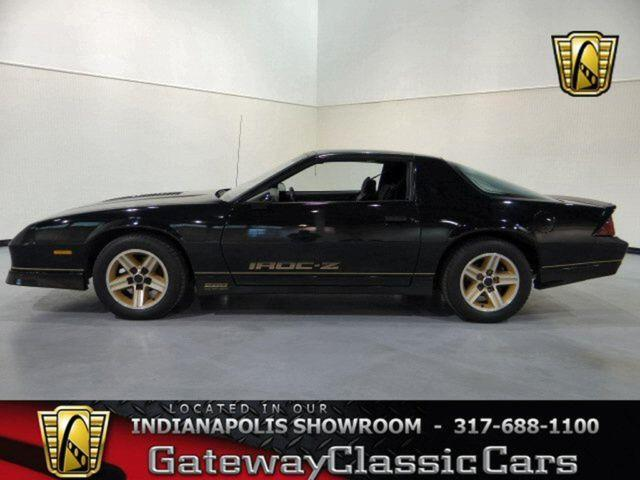 1985 chevrolet camaro iroc z 28 221ndy for sale in. Black Bedroom Furniture Sets. Home Design Ideas