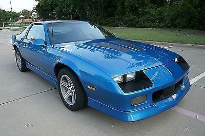 1985 chevrolet camaro iroc z rare for sale in plano texas classified. Black Bedroom Furniture Sets. Home Design Ideas