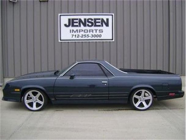 1985 chevrolet el camino ss for sale in sioux city iowa classified. Black Bedroom Furniture Sets. Home Design Ideas
