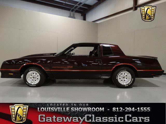1985 chevrolet monte carlo ss 753lou for sale in memphis indiana classified. Black Bedroom Furniture Sets. Home Design Ideas