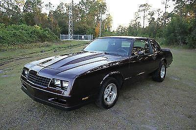1985 chevrolet monte carlo ss coupe 2 door must see for sale in saint cloud florida classified. Black Bedroom Furniture Sets. Home Design Ideas