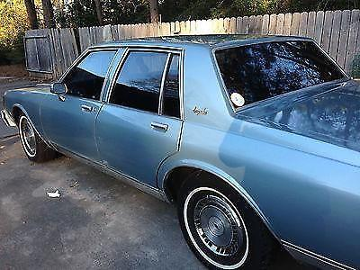 1985 chevy impala 4 door truly an og car for sale in beaumont texas classified. Black Bedroom Furniture Sets. Home Design Ideas