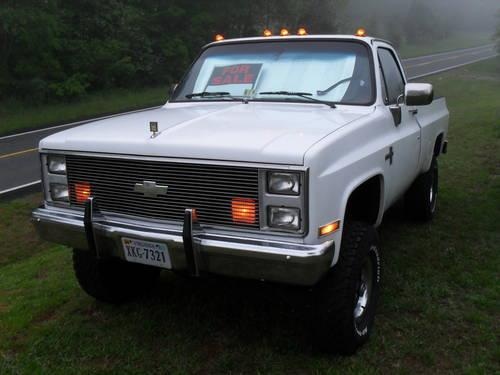 1985 chevy silverado 3 4 ton 4x4 for sale in bedford virginia classified. Black Bedroom Furniture Sets. Home Design Ideas