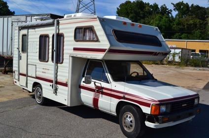 1985 Coachmen Toyota Class C Motorhome w22RE Engine & Onan Generator  RVCamper