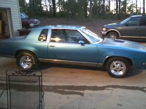 1985 Cutlass Supreme (Drag Car) For Sale For Sale In