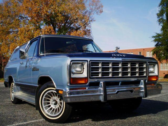 1985 Dodge Ramcharger for Sale in North Charleston, South ...
