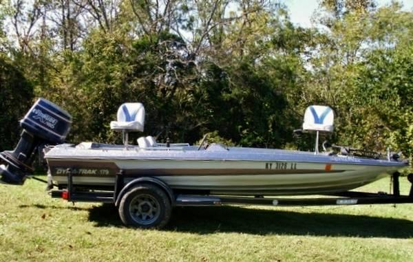 1985 dynatrac 179 bass boat 1989 evinrude xr 150 best for Bass boats with evinrude motors