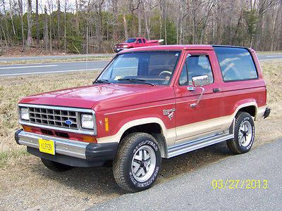 1985 Ford Bronco Ii Xlt Eddie Bauer Model For Sale In