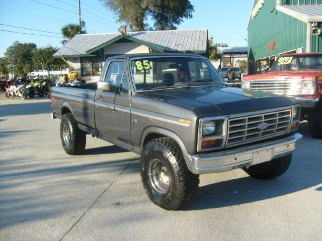 Julians Auto Showcase >> 1985 Ford F150 for Sale in Deland, Florida Classified ...