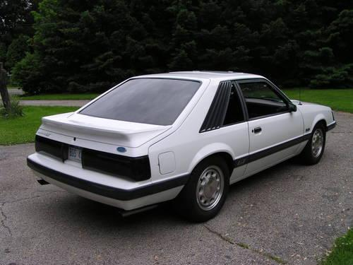 1985 Ford Mustang Gt For Sale In Niles Michigan