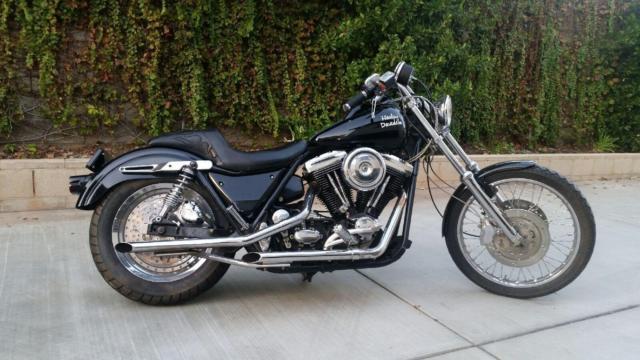 1985 Harley Davidson FXR Low Rider Evo
