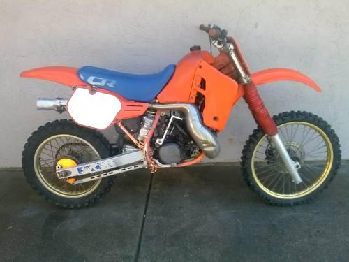 1985 HONDA CR CR500 for Project or Part Out for sale in Danville