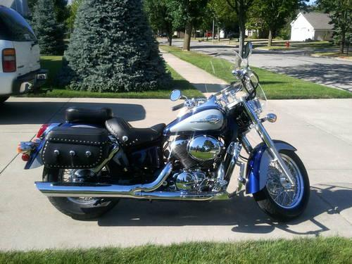 1985 Honda Shadow 750 Motorcycle For Sale U1341 For Sale In