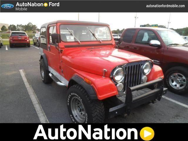 1985 Jeep CJ 4WD for Sale in Mobile, Alabama Classified ...