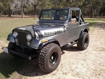 1985 jeep cj renegade cj7 for sale in houston texas. Black Bedroom Furniture Sets. Home Design Ideas
