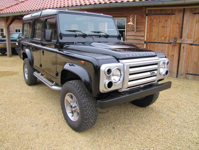 1985 LHD Landrover Defender 110 build to SVX
