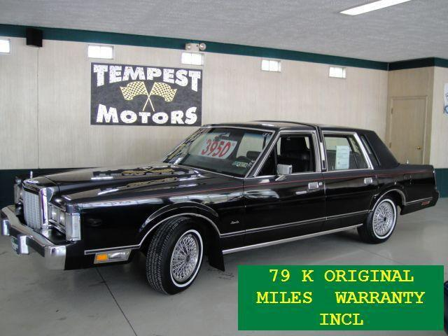 1985 lincoln town car for sale in akron ohio classified for Tempest motors in akron ohio