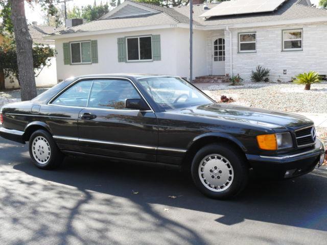 1985 mercedes 500 sec 1985 mercedes benz 500 model car for Mercedes benz van nuys service
