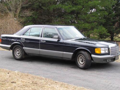 1985 mercedes benz 280 se dark blue 173k mi for sale in for Mercedes benz bloomfield mi
