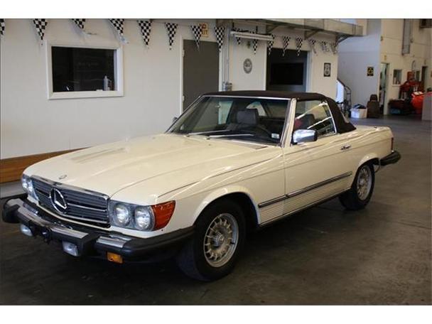 1985 mercedes benz 380sl for sale in sarasota florida for Mercedes benz sarasota