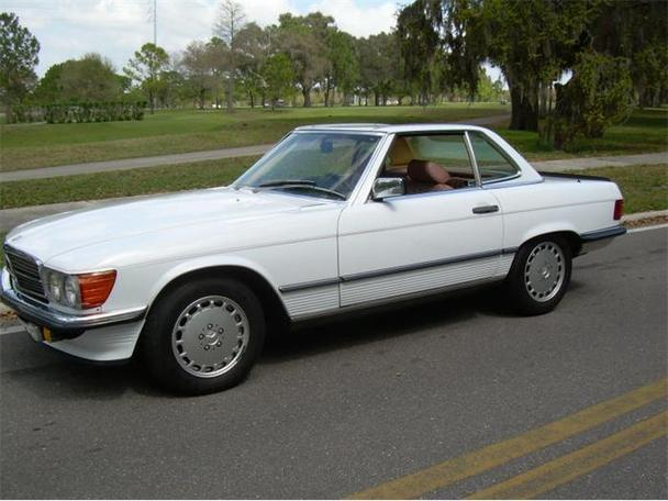 1985 mercedes benz 500sl for sale in clearwater florida for Clearwater mercedes benz