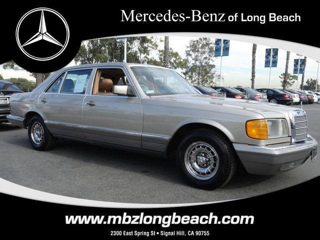 1985 mercedes benz s class 500sel for sale in signal hill for Signal hill mercedes benz