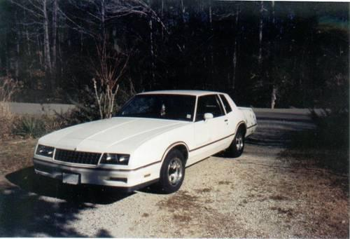 1985 MONTE CARLO SS -original,lady driven garage kept