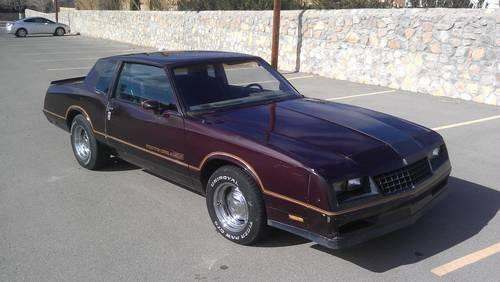 1985 monte carlo ss super sport for sale in el paso. Black Bedroom Furniture Sets. Home Design Ideas