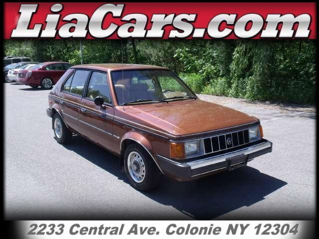 1985 plymouth horizon for sale in schenectady new york classified. Black Bedroom Furniture Sets. Home Design Ideas