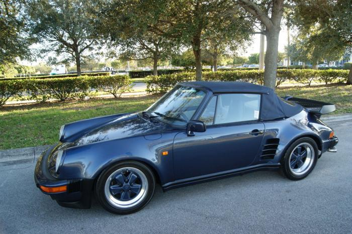 1985 Porsche 911 930 Turbo Cabriolet European For Sale In