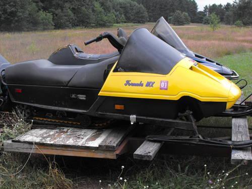 1985 Skidoo 467 Bored 40 Overformula Mxracing Sled