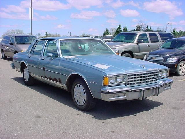 1985 Chevrolet Caprice Classic For Sale In Pontiac