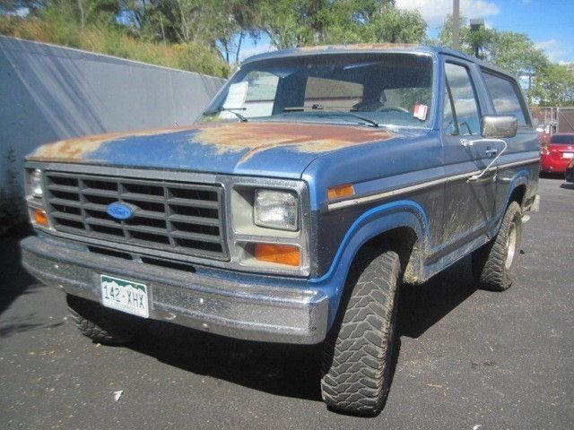 1985 ford bronco for sale in colorado springs colorado classified. Black Bedroom Furniture Sets. Home Design Ideas