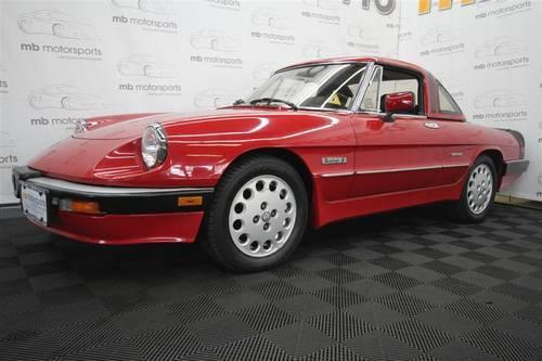 Alfa Romeo Spider Veloce Convertible Quadrifoglio For Sale In - 1986 alfa romeo spider veloce for sale