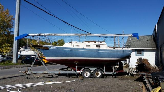 1986 Bayfield 25 Ft Cruising Sailboat For Sale In Ithaca