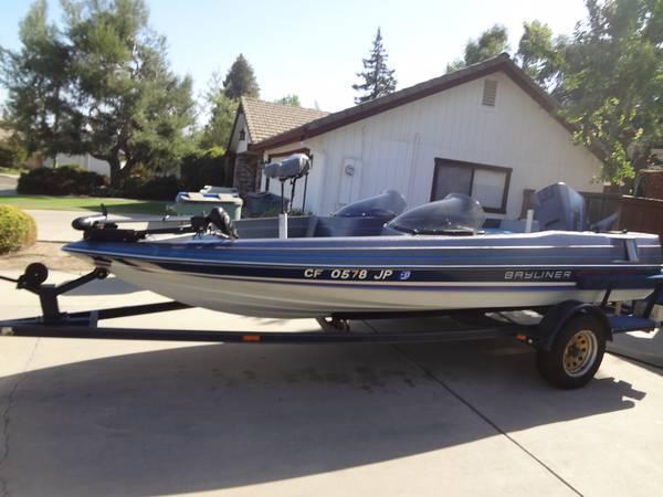 1986 Bayliner Bass Boat For Sale In Visalia